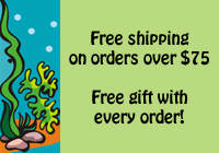 Free Shipping over $50 and Free Gift with Every Order