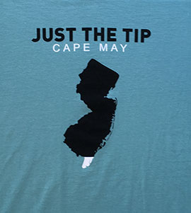 Just the tip: Cape May